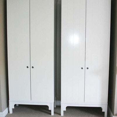 Tall white Bedroom cupboard | Home Furniture
