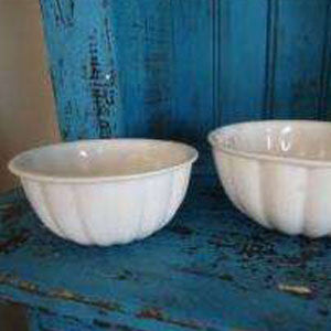 Ceramic Jelly Mold Bowls