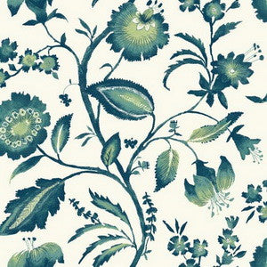 Watercolour Jacobean - AT7020 Wallpaper