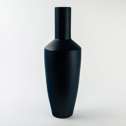SAR Navy Ceramic Vase