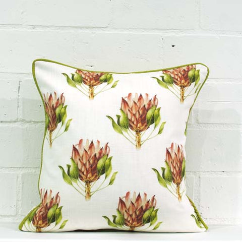 Cynaroides pattern Colour Cushion Cover