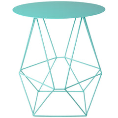 Geo Wire Table - Mint