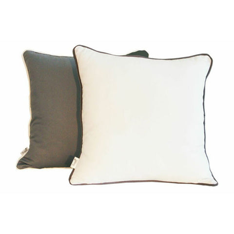 'Pop'  Charcoal & White Scatter Cushion