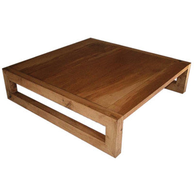 Wood French Coffee Table