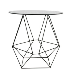 Geo Wire Table - Black