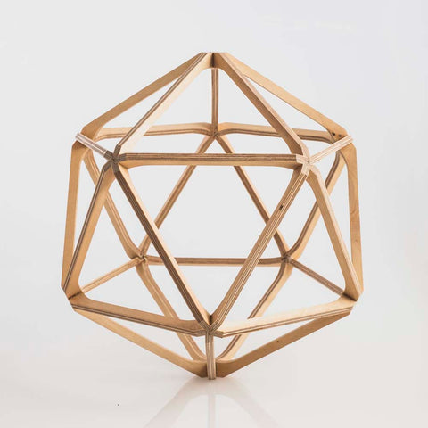 Hex Wooden Geodesic