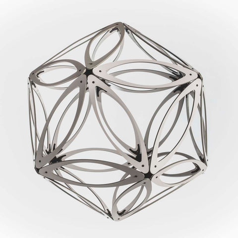 Hollow Leaf Aluminium Geodesic