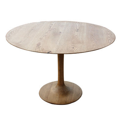 Tulip Oak Table