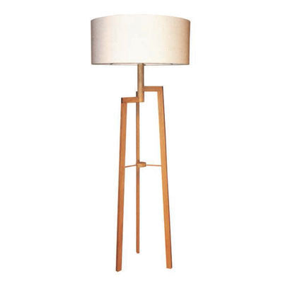 Jaggered Floorlamp - Natural Oak