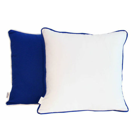'Pop' Blue & White Scatter Cushion