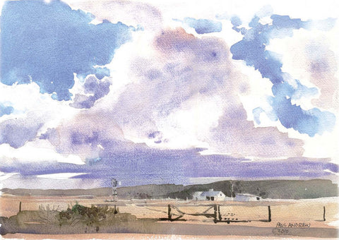 Near Vermaaklikheid | Paul Andrew Watercolors