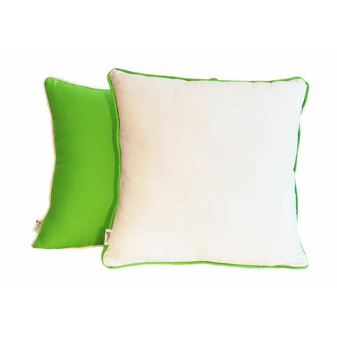 'Pop'  Lime & White Scatter Cushion