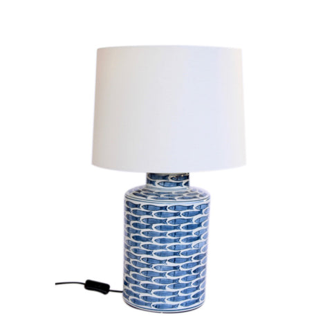 Blue Fish lamp