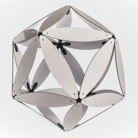 Solid Leaf Aluminium Geodesic
