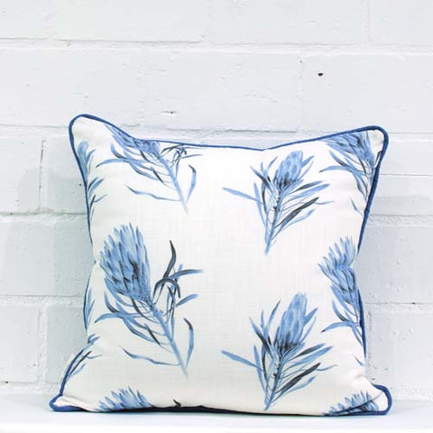 Suikerbossie pattern blue Cushion Cover
