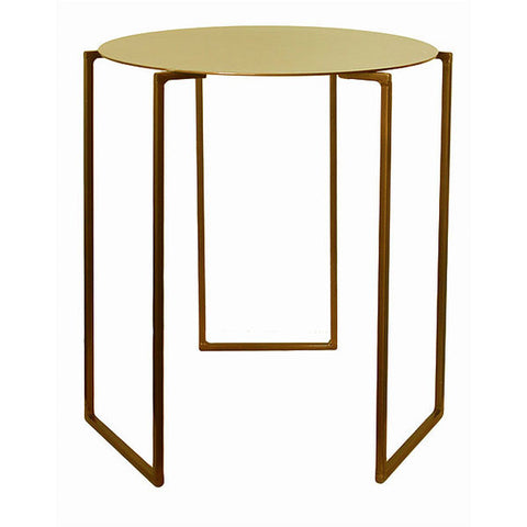 Triad Side Table - Gold