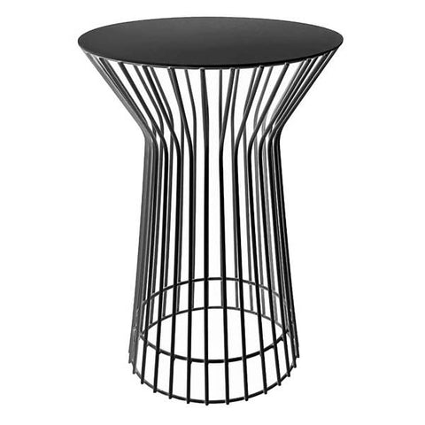 Tall Drum Side Table