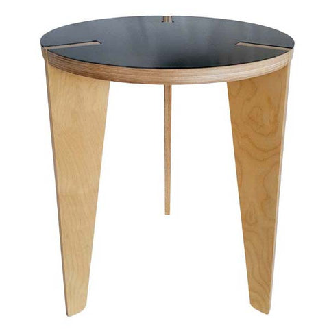 Birch Side Table Grey Top