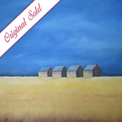 Wheat Field | Meshell Andrew Paintings
