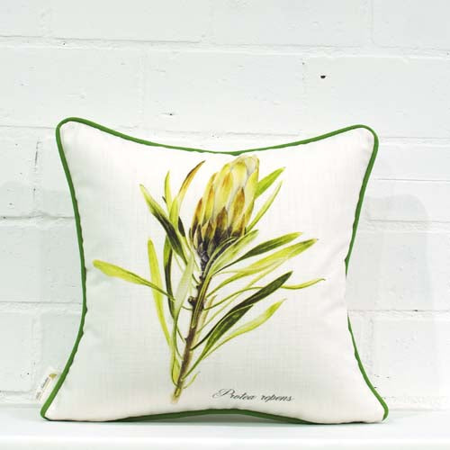 White Repens Cushion Cover