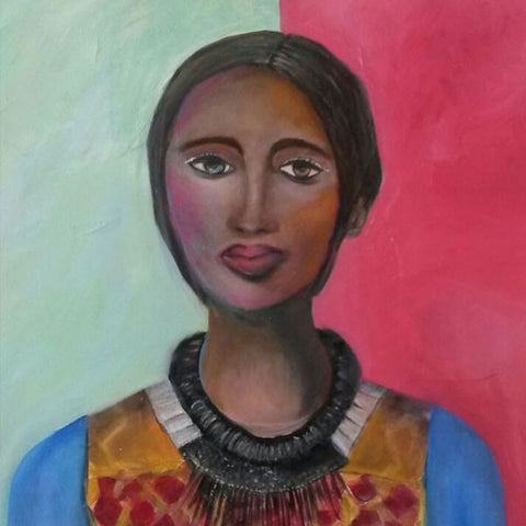 Lady | Meshell Andrew Painting