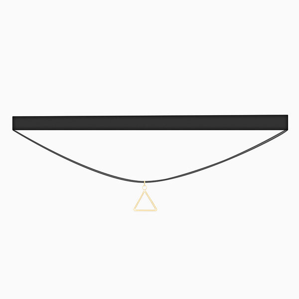 Attais Choker Gold Velvet