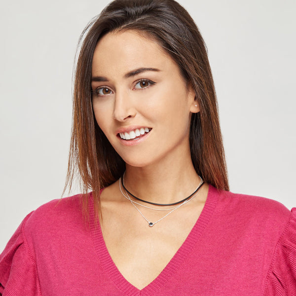 Helen Black Necklace