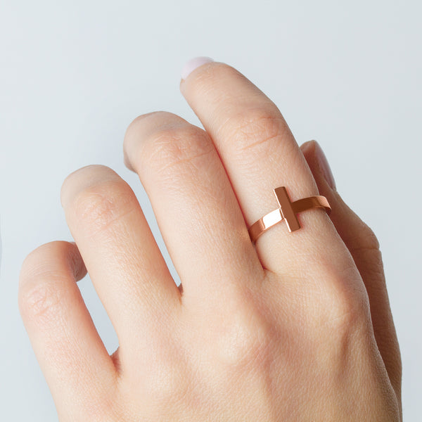 Altair Gold Rose Ring