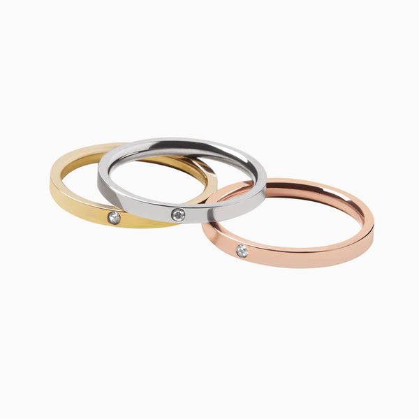 Ring Chiara Tri Color