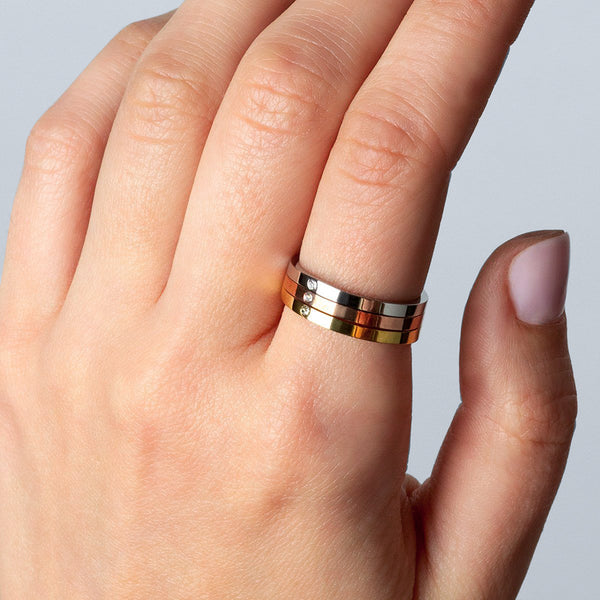Chiara Tri Color Ring