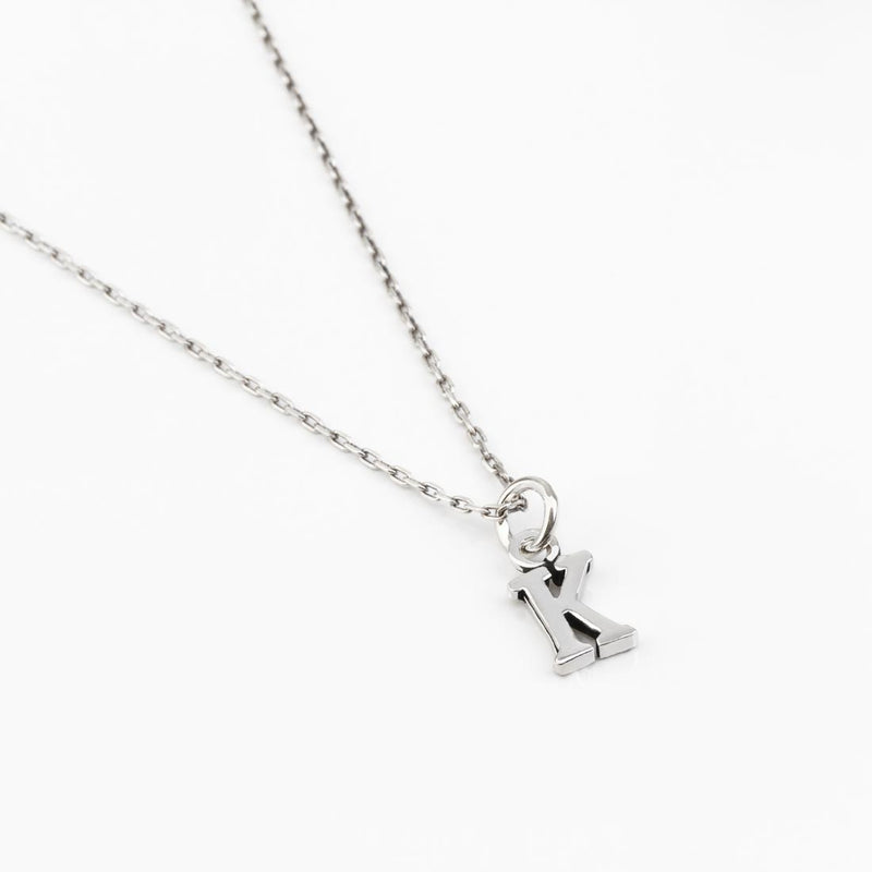Initial Customizable Silver