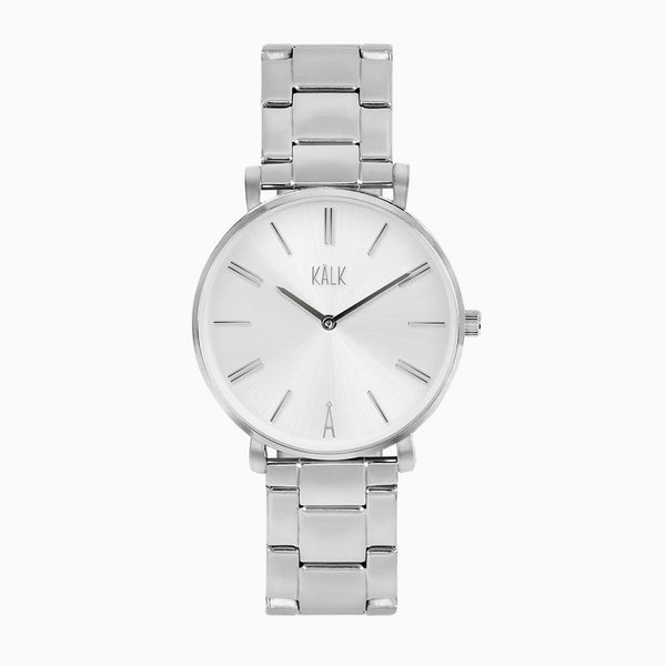 Classy Silver / White Watch