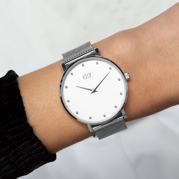 Dreamy Silver / White Watch