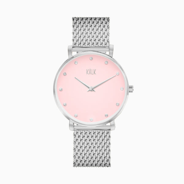 Dreamy Silver / Light Pink Watch