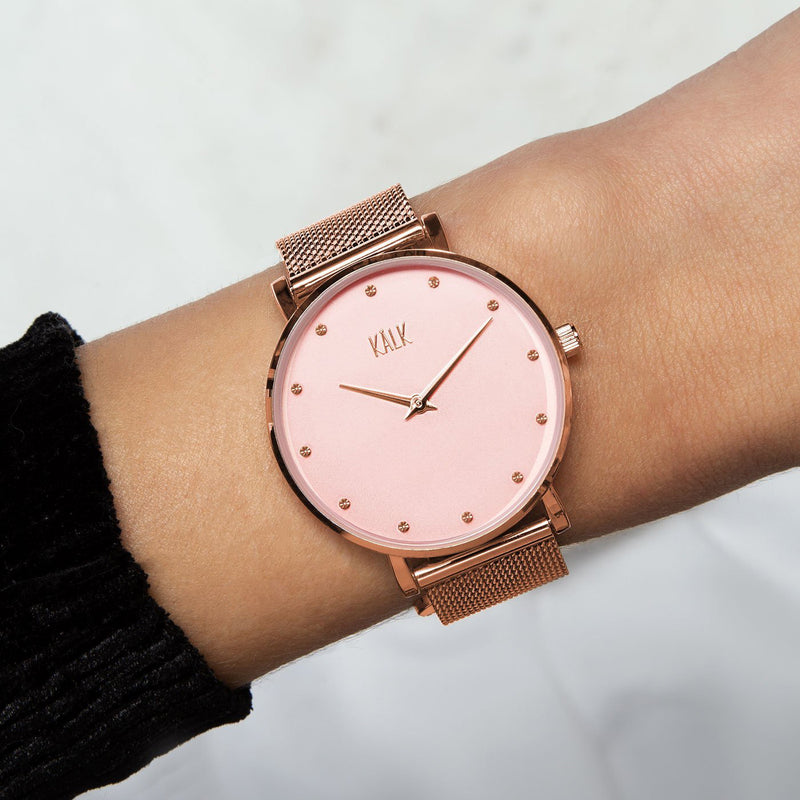 Dreamy Rose Gold / Light Pink Watch