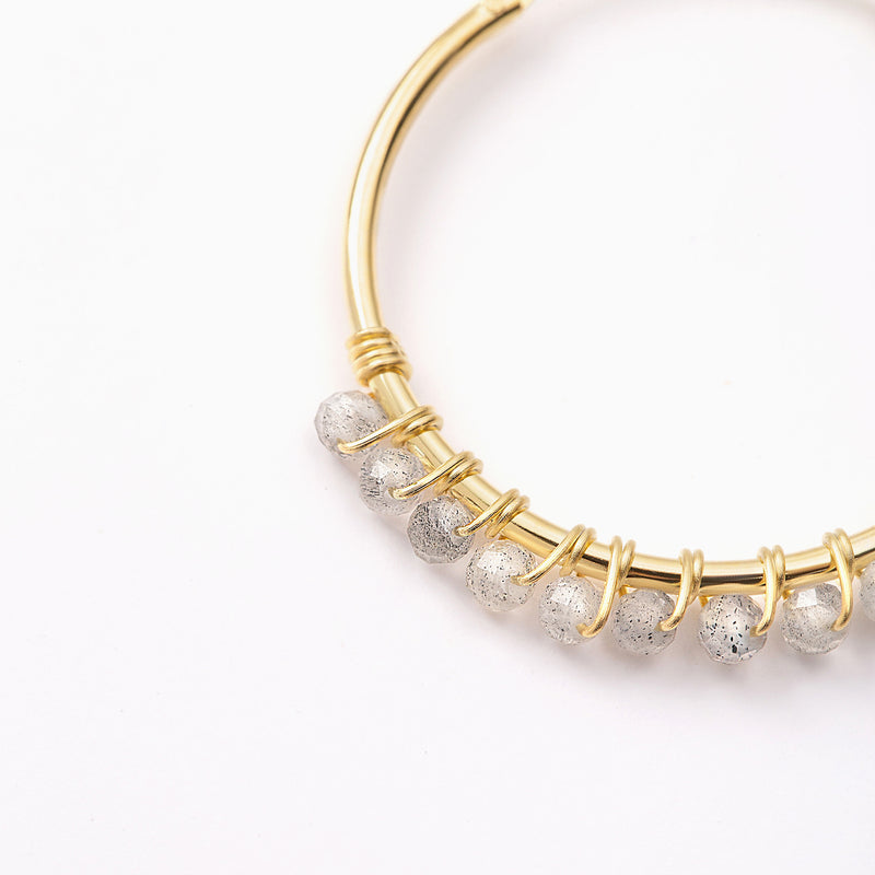 Paradise Pure Hoop Earrings Gold