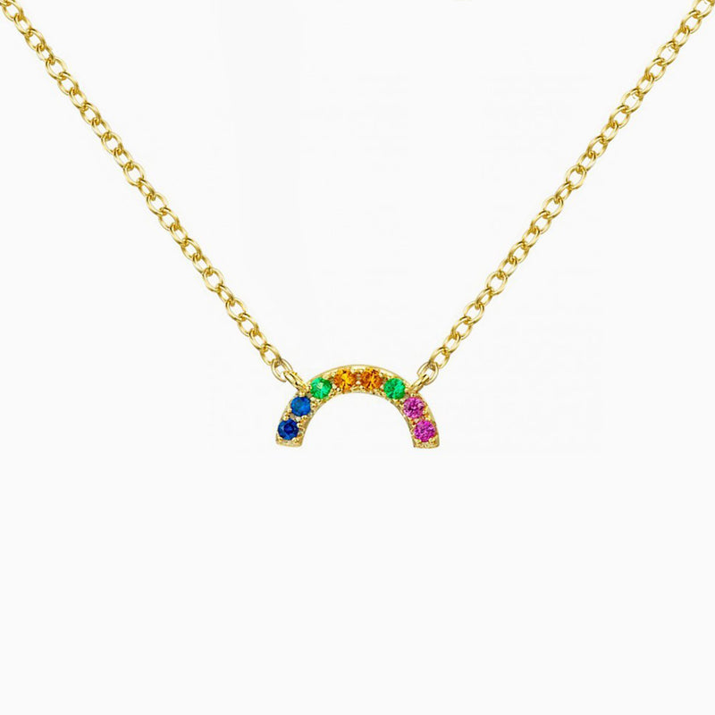 Rainbow Gold Pendant