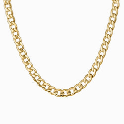 Necklace Bold Gold
