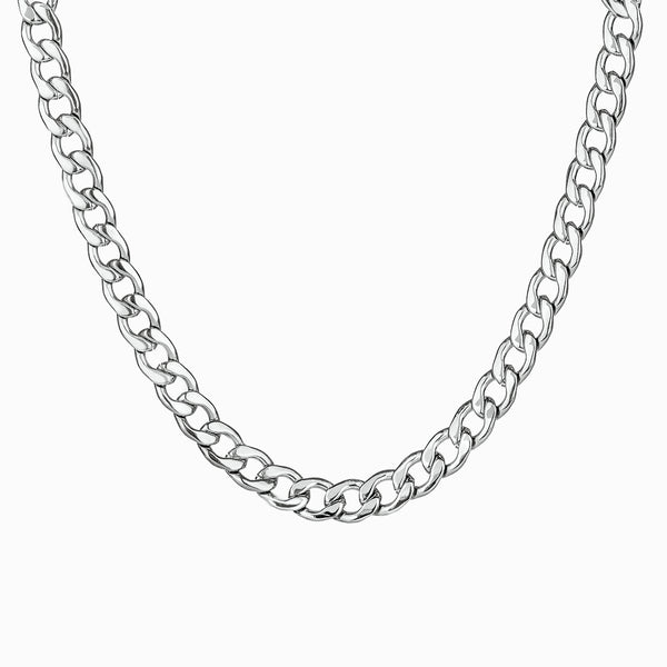 Necklace Bold Silver