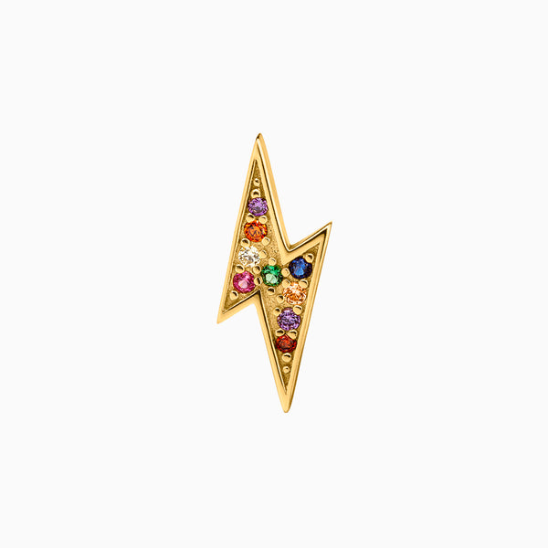Ray Multicolor Piercing Gold