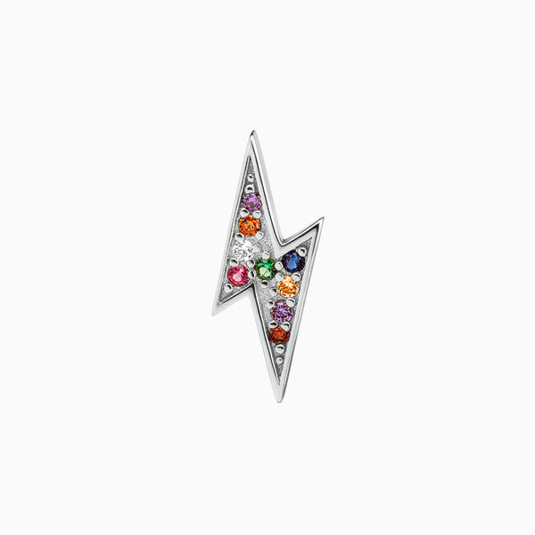 Ray Multicolor Piercing Silver