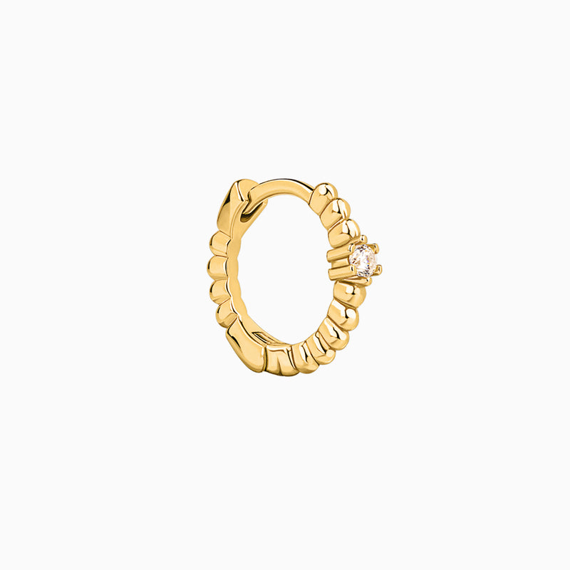 Royal Gold Ring Piercing