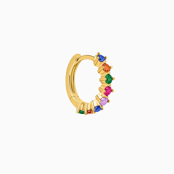 Amalfi Mix Hoop Piercing Gold