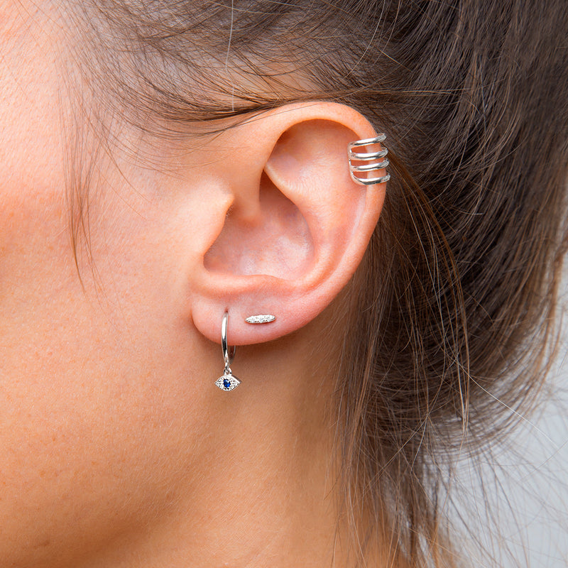 Moonlight Silver Piercing