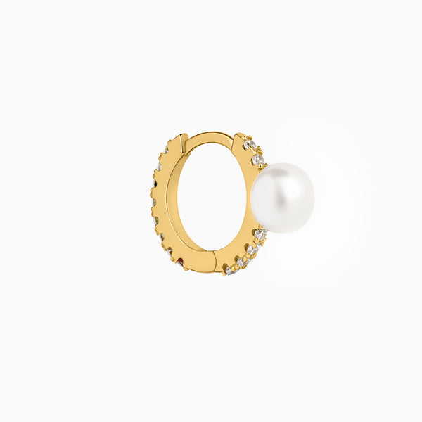 Vogue Hoop Piercing Gold