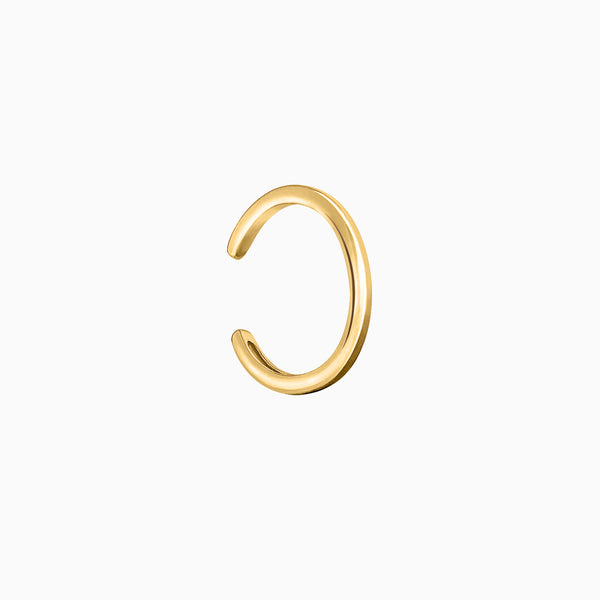 Ear Cuff Plain Gold