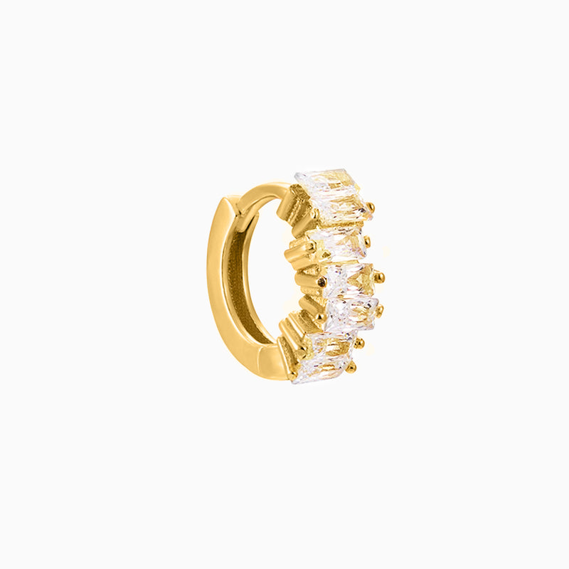 Elegance Ring Zirconias Gold Piercing