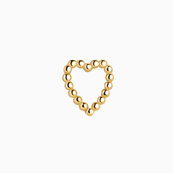 Cuore Piercing Gold