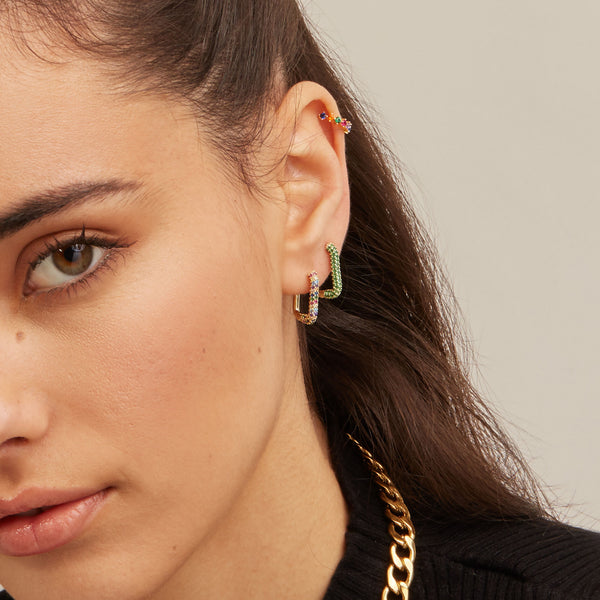 Couture Multi Piercing Gold