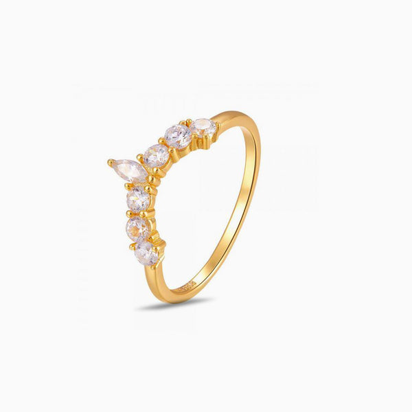 Ring Tiara Gold